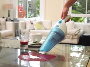 Example of handheld wet and dry vacuum
