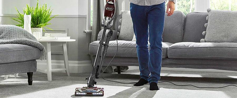 Shark Vacuum in Action