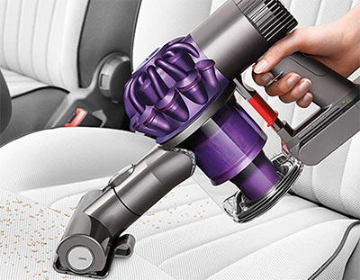 Example of Dyson's vacuum converting to a handheld