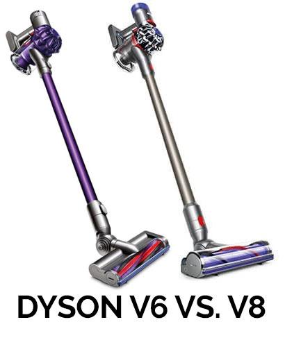 Dyson V6 Vs V8 - an in-depth comparison