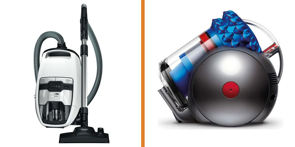 A comparison of the Miele CX1 and Dyson
