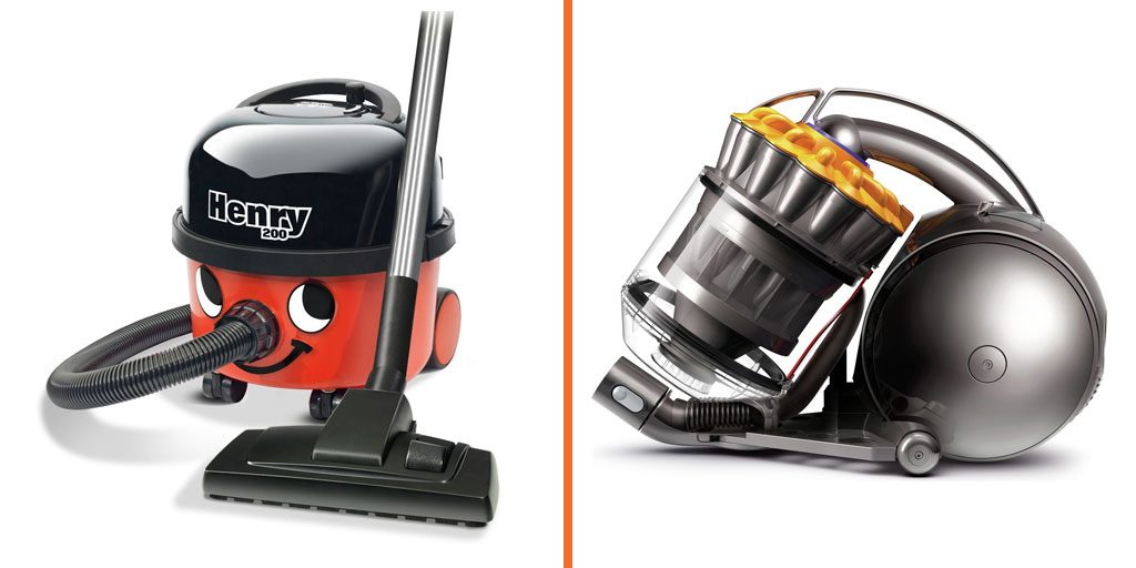 Henry Hoover vs Dyson Ball Multi Floor