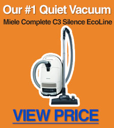 Our top pick for a quiet vacuum