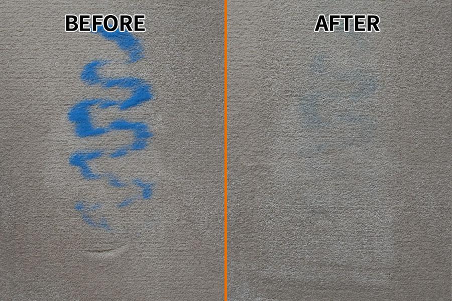 Carpet Sand Test