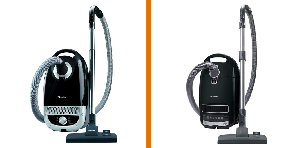 A comparison of the Miele C2 and Miele C3