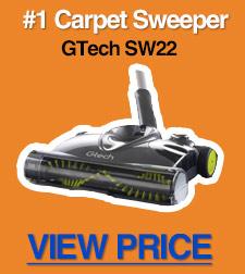 Top carpet sweeper
