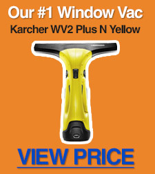 The Karcher WV2 Plus N Yellow (replacing the WV2 Premium) is our top pick in this category